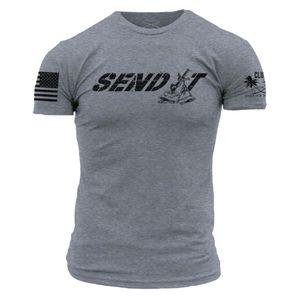 "Club Grunt Style ""Send It"" Men's T-shirt - Medium"